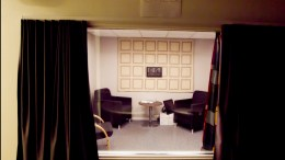 Interrogation room in Oslo Police in Greenland in Oslo