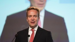 Minister of Foreign Affairs, Børge Brende. UD