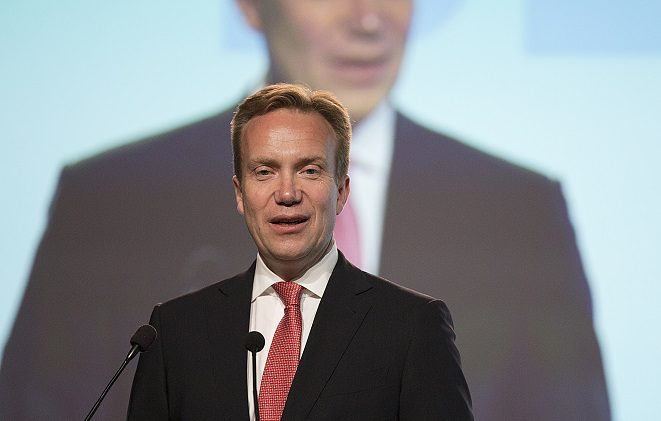 Minister of Foreign Affairs, Børge Brende.