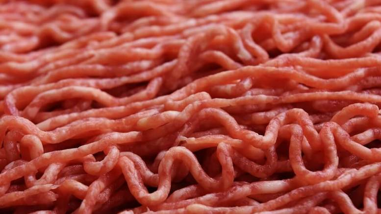 Meat Freeze Ground beef