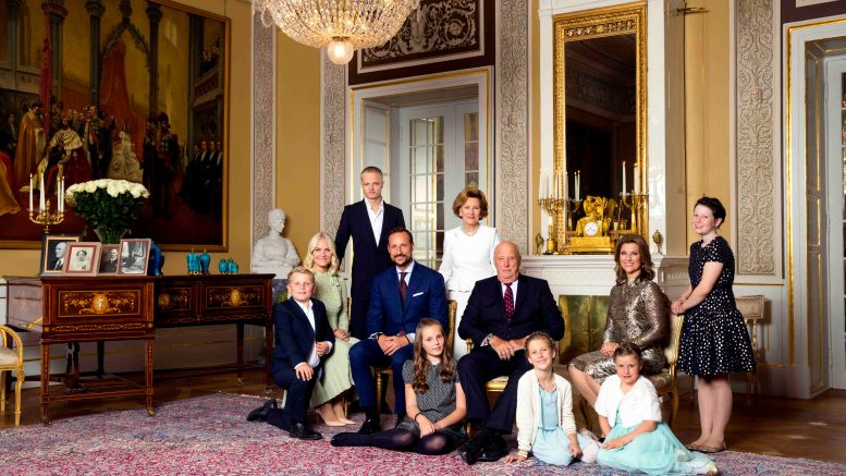 The congratulations have poured in to King Harald!