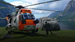 Sea King, Missing Persons, Missing Man, Aurland