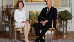 King Harald and Queen Sonja 80