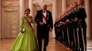 gala dinner, King Harald and Queen Sonja celebrate their 80th anniversary