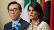 Nikki Haley, North Korea threatens the world