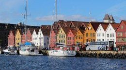 Bergen Fjords Bryggen Attractive City Awards
