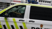 Police Car stabbing in Oslo Police officer shots fired