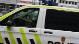 Police Car stabbing in Oslo Police officer