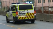 Police car Muldalsfossen life-threatening injuries