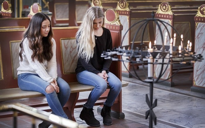 Youth in Oslo Cathedral