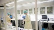 Laboratory work at the Institute of Public Health salmonella