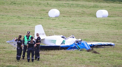 Two people died in a small plane crash in Hedmark