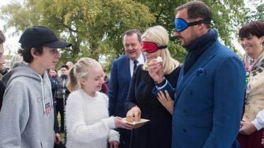 .Crown Prince Haakon, and Mette- Marit