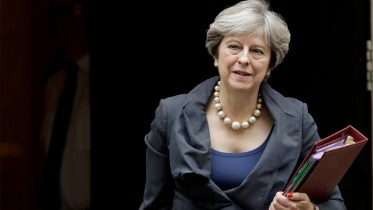 British Prime Minister Theresa May Brexit