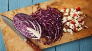 Red cabbage Yule food christmas