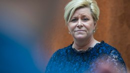 FrP Party leader Siv Jensen Progress Party