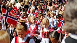 Norway's Constitution Day: Children's parade