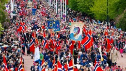Norway's national day in Oslo.17may