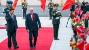 King Harald and China's President Xi Jinping