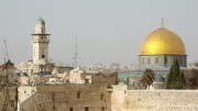 Jerusalem Cliff Mosque Wailing Wall Temple Mount Norwegian People's Aid
