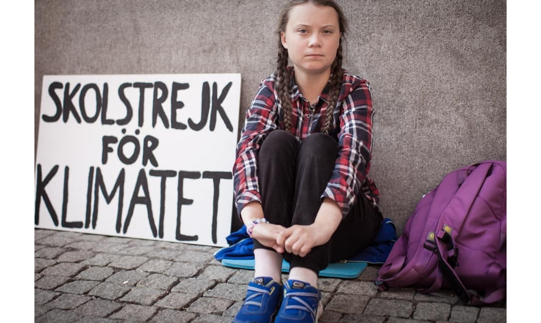 Teenager rebukes the EU on climate policy