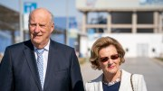 HRH King Harald and Queen Sonja Royal Couple