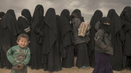 ISIL bride women children