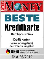 barclaycard Visa Norwegen