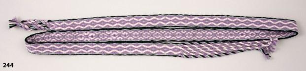Linda Hurt, Alexandria, VA Card-Woven Belt