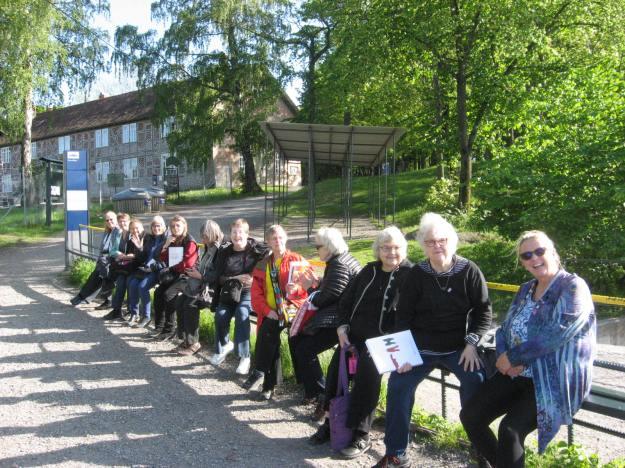 Lucky Vesterheim Textile Tour Participants