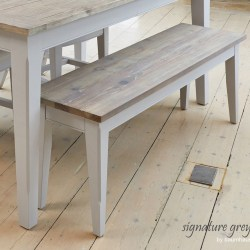 Painted Dining Benches