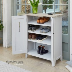 Painted Shoe Cupboard