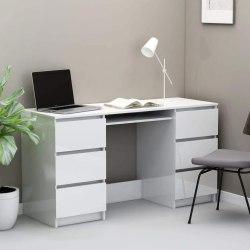 High Gloss/ Coloured Computer Desk