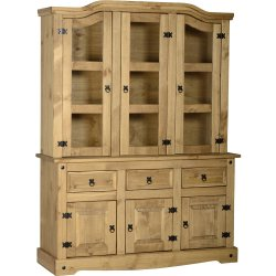 Pine Buffet Hutch