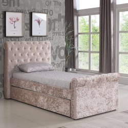 Fabric Single Beds