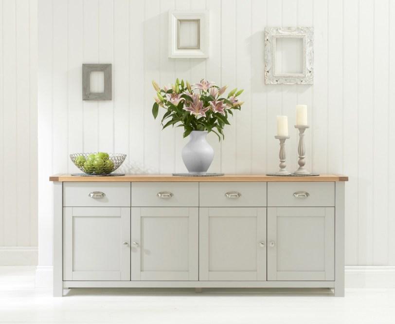 Sandringham-Oak-Grey-4-Door-4-Drawer-Sideboard