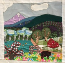 View of Killington. Erna Luchini, Quilter