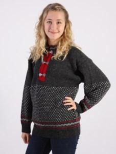 Nidaros stickad norsk tröja från Norwool