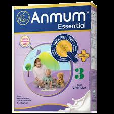 susu formula pertumbuhan anak 1-3 tahun Anmum Essential 3