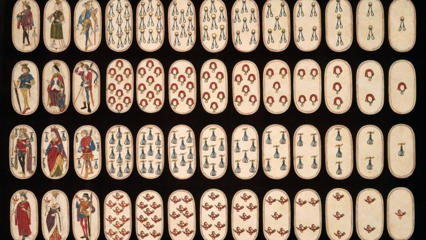 The medieval deck of cards