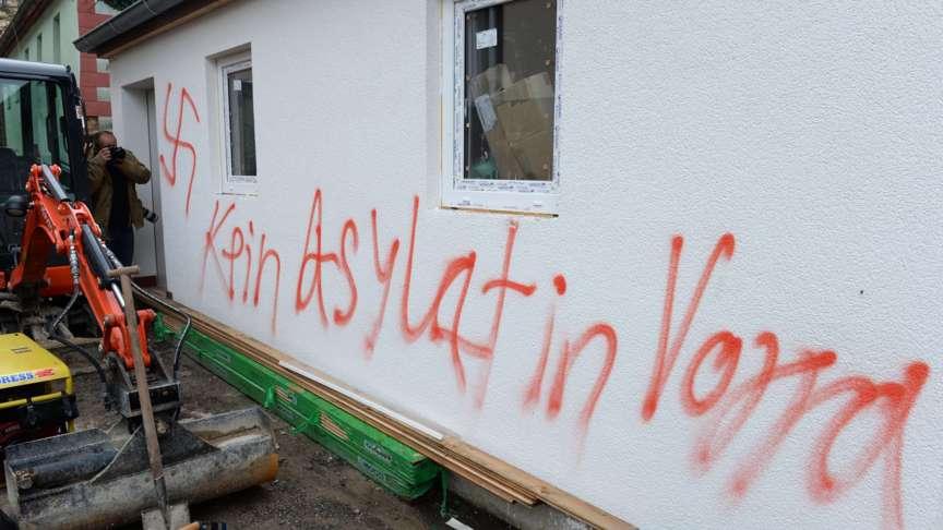 Nuremberg swastika vandalism