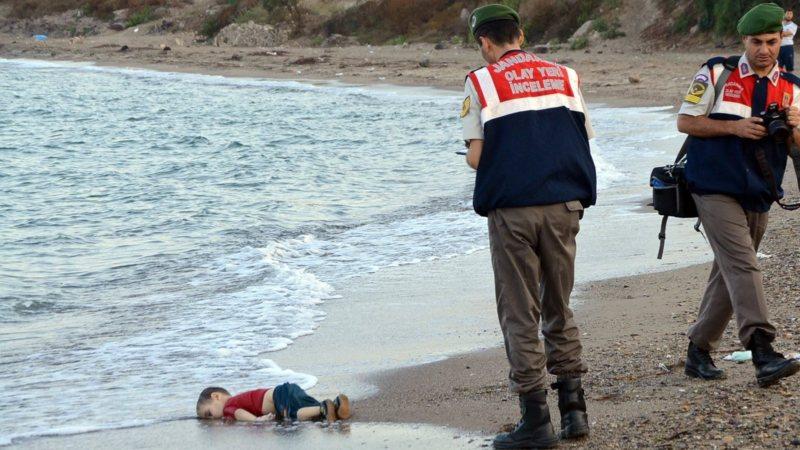 Drowned three-year-old Syrian boy Aylan, dead on the Turkish coast