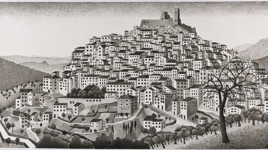The newly discovered Escher drawing