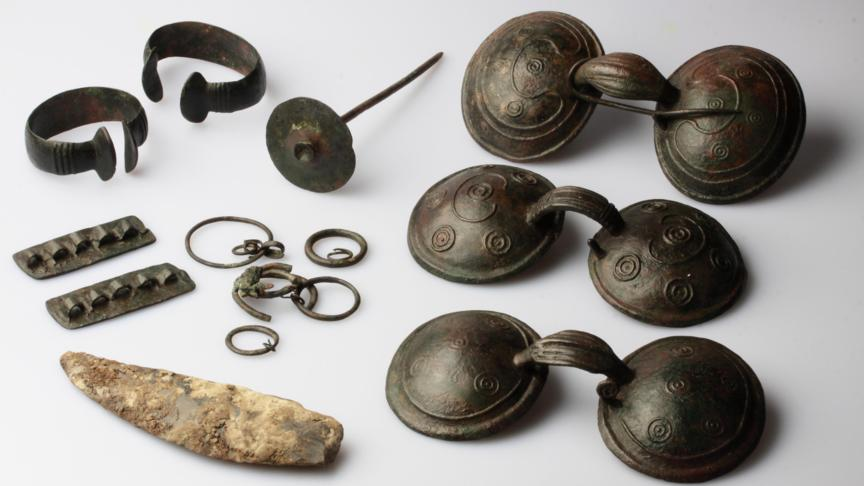 Bronze Age objects found near Hoogkarspel