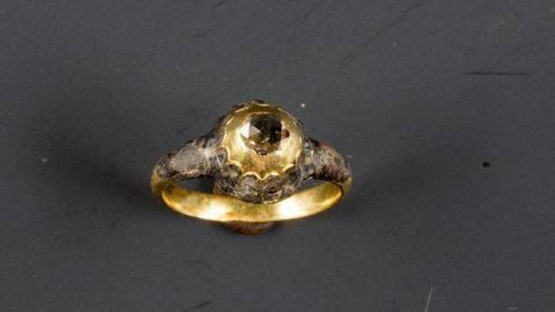 Maria Tesselschade's wedding ring