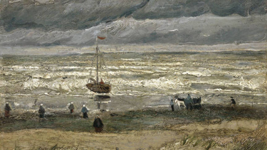 Sea at Scheveningen by Vincent van Gogh