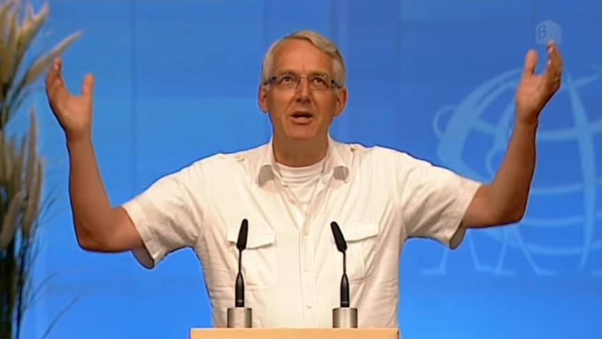 Jan-Hein Staal, leader of the Brunstad Christian Church in the Netherlands