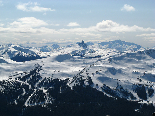 Garibaldi Provincial Park (view from Blackcomb Peak)