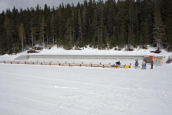 2010 Olympics biathlon shooting range