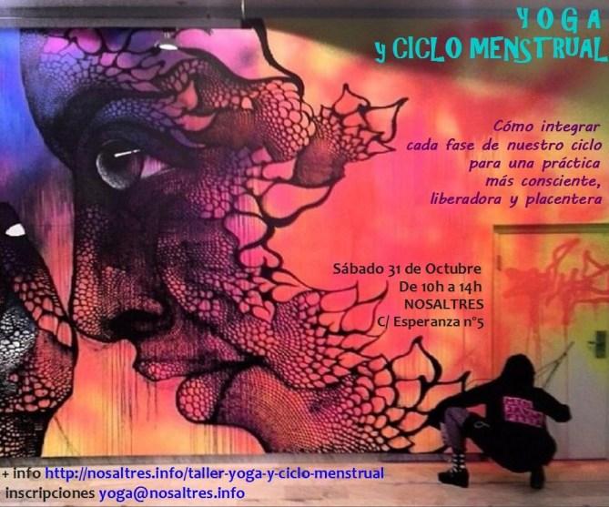 Taller de Yoga Mujeres y Ciclo Menstrual Lavapiés Nosaltres Ashtanga